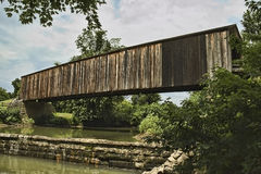 Old Covered Bridge Royalty Free Stock Photo