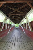 Old covered bridge Royalty Free Stock Photography