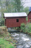 Old Covered Bridge Stock Photo
