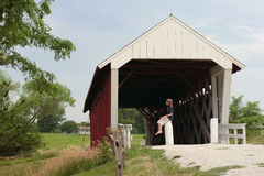 The Old Covered Bridge Royalty Free Stock Photo