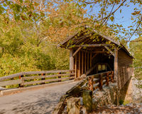 Old Covered Bridge Royalty Free Stock Image