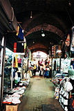 Sidon suq. The old covered market of sidon in south lebanon Royalty Free Stock Photography