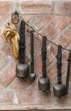 Old cowbell for cows Stock Image
