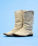 Old Cowboy Boots Royalty Free Stock Photography