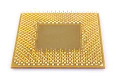 Old CPU microprocessor Stock Image