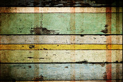 Old crack wood planks Stock Images