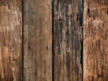 Old crack wood texture surface for background Royalty Free Stock Photos