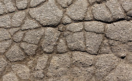Old cracked asphalt texture. Royalty Free Stock Photography