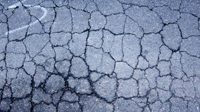 Old cracked asphalt texture Royalty Free Stock Photo