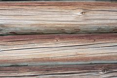 Old cracked beams Royalty Free Stock Images