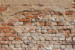 Old cracked brick wall Royalty Free Stock Photo
