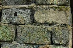 Old cracked brickwork Royalty Free Stock Images