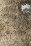 Old cracked cement. The old cracked cement and dirt and corrosion Stock Image
