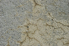 Old cracked cement wall Royalty Free Stock Image