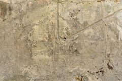 Old, cracked concrete surface Stock Photo
