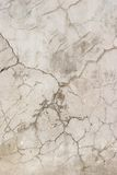 Old Cracked Concrete Wall Stock Photography
