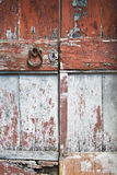 Old cracked doors Royalty Free Stock Photo