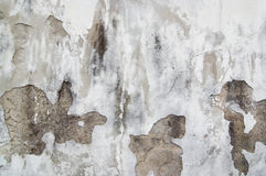 Old cracked and eroded plaster Royalty Free Stock Photography