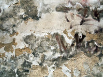 Old cracked and eroded plaster Royalty Free Stock Photo
