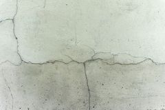 Old cracked gray wall royalty free stock image