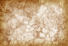 Old cracked grunge brown wall - retro background Royalty Free Stock Image