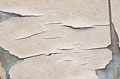 Old Cracked Linoleum Tile Detail Stock Images