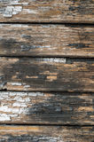 Old cracked paint on boards Royalty Free Stock Photo