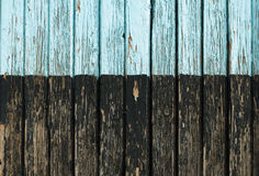 Old cracked paint on boards Royalty Free Stock Image