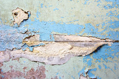 Old cracked paint concrete wall texture Stock Image