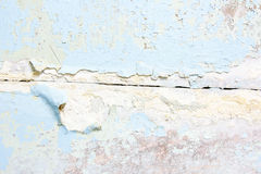 Old cracked paint concrete wall texture Royalty Free Stock Photos