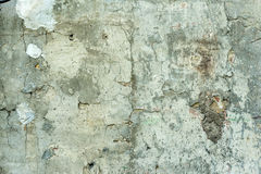 Old cracked paint concrete wall Stock Images