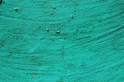 Old cracked paint pattern on concrete background. Peeling paint. Royalty Free Stock Image