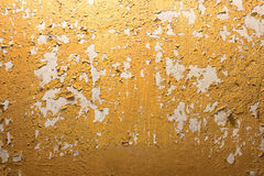 Old cracked paint and wall Royalty Free Stock Photo
