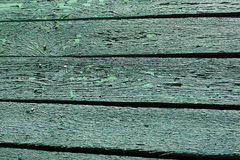 Old cracked paint on the wooden boards. background. Stock Image