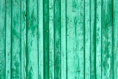 Old cracked painted blue-green texture. Textured color background Stock Photography