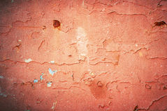 Old cracked painted texture. Rusty metal surface Royalty Free Stock Photography