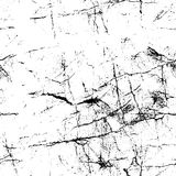 Old cracked paper pattern. Grunge white wallpaper template. Rough texture. Royalty Free Stock Photos