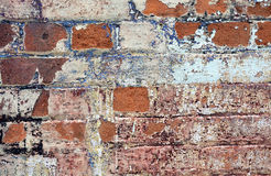Old cracked rendered wall texture background Stock Photography