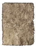 Old cracked sheet of parchment in a grunge style Stock Photography