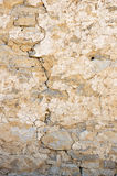 Old Cracked Stone Wall Royalty Free Stock Photography