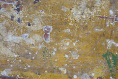 Old cracked varnish on a wooden board Royalty Free Stock Image