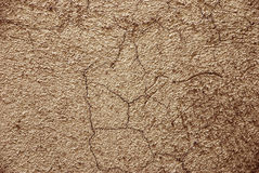 Old Cracked Wall. A textured background with subtle stains and cracks Royalty Free Stock Photography