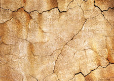 Old cracked wall Royalty Free Stock Photography