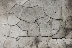 Old cracked wall background. With grain Royalty Free Stock Photo
