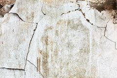 Old cracked wall. Background. Vintage royalty free stock images