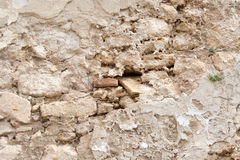 Old cracked wall Royalty Free Stock Image