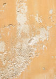 Old cracked wall. Beige background Royalty Free Stock Images