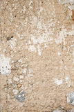 Old cracked wall. Beige background Royalty Free Stock Image