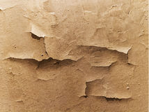 Old cracked wall. Vintage background with brown texture of old cracked wall royalty free illustration