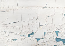 Old cracked white and blue texture Royalty Free Stock Images
